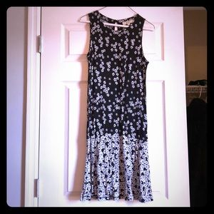 Loft flounce dress